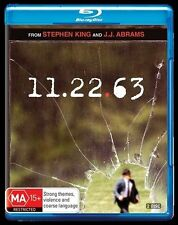 11.22.63 (Stephen King) : Blu-Ray NEW
