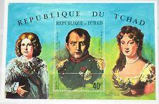 Chad chad 1971 bloque 17 a S/s c63d Napoleón Bonaparte 150th Death Ann mnh