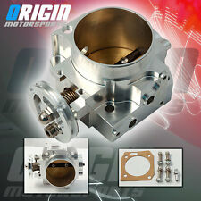 70MM DC5 EP3 K20 K20A3 K20A2 K20Z1 BOLT-ON INTAKE ALUMINUM THROTTLE BODY