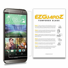 2-Pack EZguardz Premium Tempered Glass Screen Protector For HTC One M8
