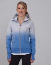 NWT Lululemon Special Edition Scuba Hoodie Dip Dye Gray Blue Ombre 4