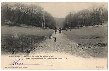 CPA 78 - LOUVECIENNES (Yvelines) - Entrée de la Forêt de marly le Roi