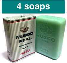 4x MUSGO REAL Claus Porto LAFCO Ach Brito Men Soap 160g 5.60oz  FREE SHIPPING