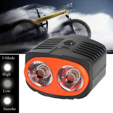 Dual Use 2LED 2W Owl Bicycle Bike Head Light Lamp Front Light For Outdoor Sport