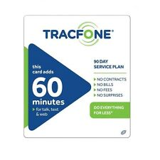 TracFone $19.99 Refill -- 60 Minutes / 90 Days, Loaded To Phone Directly