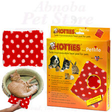 PETLIFE Hottie Microwavable heat pad for Pet Dog Cat Rabbit & Puppy Whelping Box