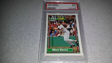 WADE BOGGS 1992 TOPPS #399 ALL STAR CARD GRADED MINT 9 PSA RED SOX HOF POP 8