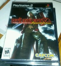 DEVIL MAY CRY 3 DANTES AWAKENING SPECIAL ED PS2 BLACK LABEL YFOLD FAC SEALED NEW