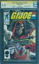 G.I.Joe 43 CGC SS 9.8 Larry Hama Signed 1st Scrap Iron Mike Zeck Cover White Pgs