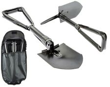 Tri-Fold Shovel Foldable Tool Survival Camping Tactical Gear Entrenching Pick