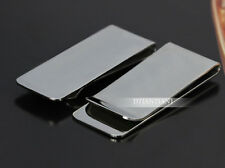 Men's Business Wallet Gift Titanium Steel Money Clip Credit Card Holder