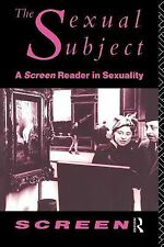 The Sexual Subject: Screen Reader in Sexuality (Screen)