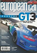 European Car magazine Porsche GT3 Morgan Aeromax Audi A5 Golf Modified 911