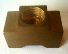 "Brass 1/8"" Inverted Flare Union Tee BT125IF @ Speed Tech"