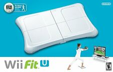 NEW Nintendo Wii Fit U Balance Board, Game & Fit Meter Accessory Bundle
