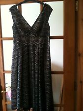 BNWT F & F LIMITED EDITION TESCO BLACK LACE DRESS SIZE 12 NEXT DAY DESPATCH