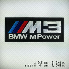 M3 BMW MPOWER Embroidered Patch Iron on, sew, RACING Sports Automotive RACE CAR