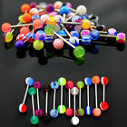 10/30/50 PREMIUM Tongue Nipple Ear Rings BARS BARBELL BODY PIERCING JEWELRY Gift