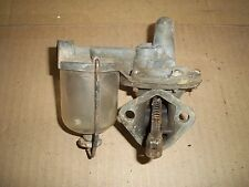 1941 FORD V8 FLATHEAD ENGINE FUEL PUMP AC GLASS FILTER 1948 1939 1940 RAT ROD J