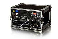 Smoke Factory Spaceball II 650W Nebelmaschine im Flightcase inkl. 5L orig. Fluid