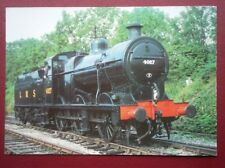 POSTCARD LMS 4F 0-6-0 LOCO NO 4027 - NOW PRESERVED AT MIDLAND STEAM TRUST