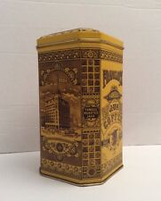 Vintage Franklin`s Famous Java Coffee Tin Can Empty Box *GUC*