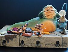 Star Wars Black Series Jabba the Hutt Throne VC64 Slave Princess Leia Figure lot
