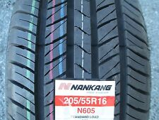 4 New 205/55R16 Nankang N605 Tires 205 55 16 R16 2055516 55R 520AA