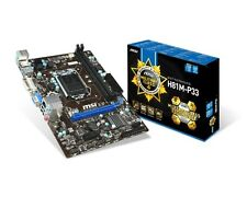 MSI H81M-P33 Intel LGA1150 mATX Motherboard USB 3.0, SATA 3, DVI and VGA