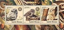 (206548) Birds, Owl, Rotary, Guinea-Bissau