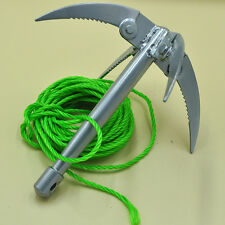 Ninja Grappling Hook Outdoor Tool Folding Boat Wall Anchor Rock Climbing Claw
