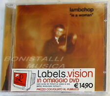LAMBCHOP - IS A WOMAN - CD + Bonus DVD SIGILLATO