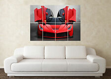 Grande FERRARI SUPERCAR SPORTS CAR WALL POSTER Arte Stampa Quadro