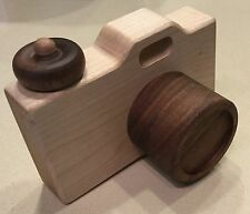 Little Sapling Toys Handcrafted Wooden Camera! Great Piece! Free Shipping!