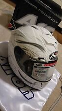 Airoh Gp500 Helmet Carbon kevlar cosmos white Size L