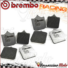 8 FRONT BRAKE PADS BREMBO CARBON RACING 07BB33RC TRIUMPH SPEED TRIPLE 1050 2013