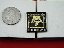 GIVE ME LIBERTY OR GIVE ME DEATH BOUCHERCON PIN