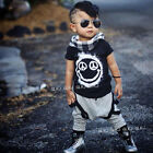 2pcs Toddler Kids Baby Boy T-shirt Tops+Long Pants Trousers Outfits Clothing Set