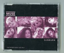 MUSE - PROMO cd-maxi - SUNBURN © 2000 - 4-Track-CD incl. info sheet + live track