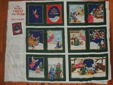 THE NIGHT CHRIST WAS BORN FABRIC PANEL SOFTBOOK 1994 # 5339 SEW CRAFT