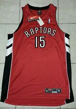 BNWT VINCE CARTER TORONTO RAPTORS NIKE AUTHENTIC JERSEY SIZE 52 2XL PRO CUT