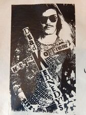 Nos Diy Punk Rocker Retro Flyer Advertisement X-Large Big Patch Dead Kennedys