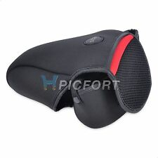 New Neoprene Soft Camera Bag Case Cover Canon EOS 550D with 18-200mm