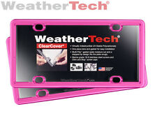 WeatherTech® ClearCover® License Plate Cover - 2-Pack - Hot Pink