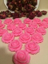 100 tiny  Rose Soaps- Party Favors, Bridal ,baby,wedding,shower,Birthday,scented
