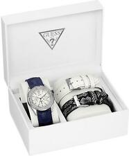 Guess Women's U0086L1 Feminine Classic Watch with Three Interchangeable Straps