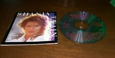Shania Twain The Woman In Me CD Pop Country Music Is There Life After Love Win