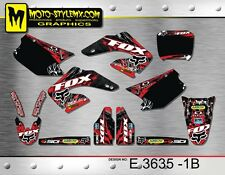 Honda CR 125 250 2000 up to 2001 graphics decals kit Moto StyleMX
