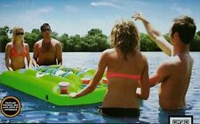 New Kwik Tek PONGO BONGO Beer Pong Table game inflatable Beach Pool Lake 88 x 40