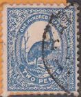 (STA192) 1888 NSW 2d BLUE EMU (A)
